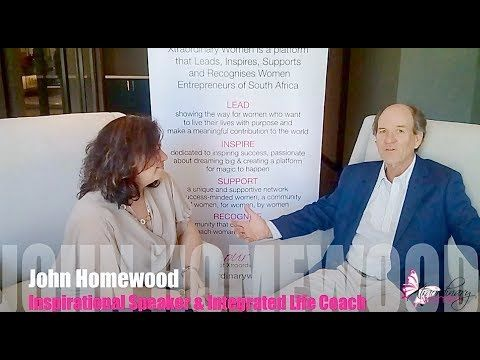 Xtraordinary Women interviews John Homewood, Inspirational Speaker & int...