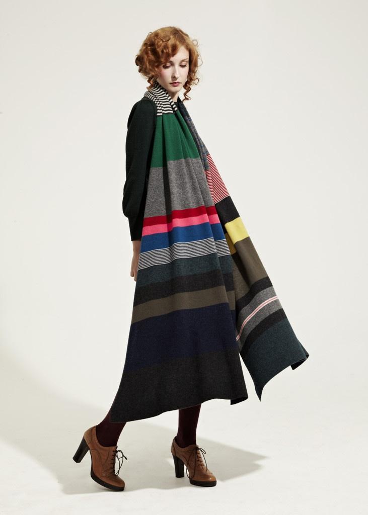 Multi colour shawl
