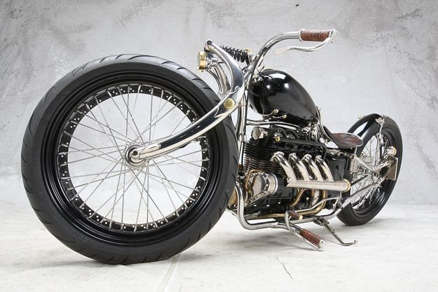 Cook Customs Rambler custom motorcycle - not really a cafe, but interesting use of a CB550 engine.