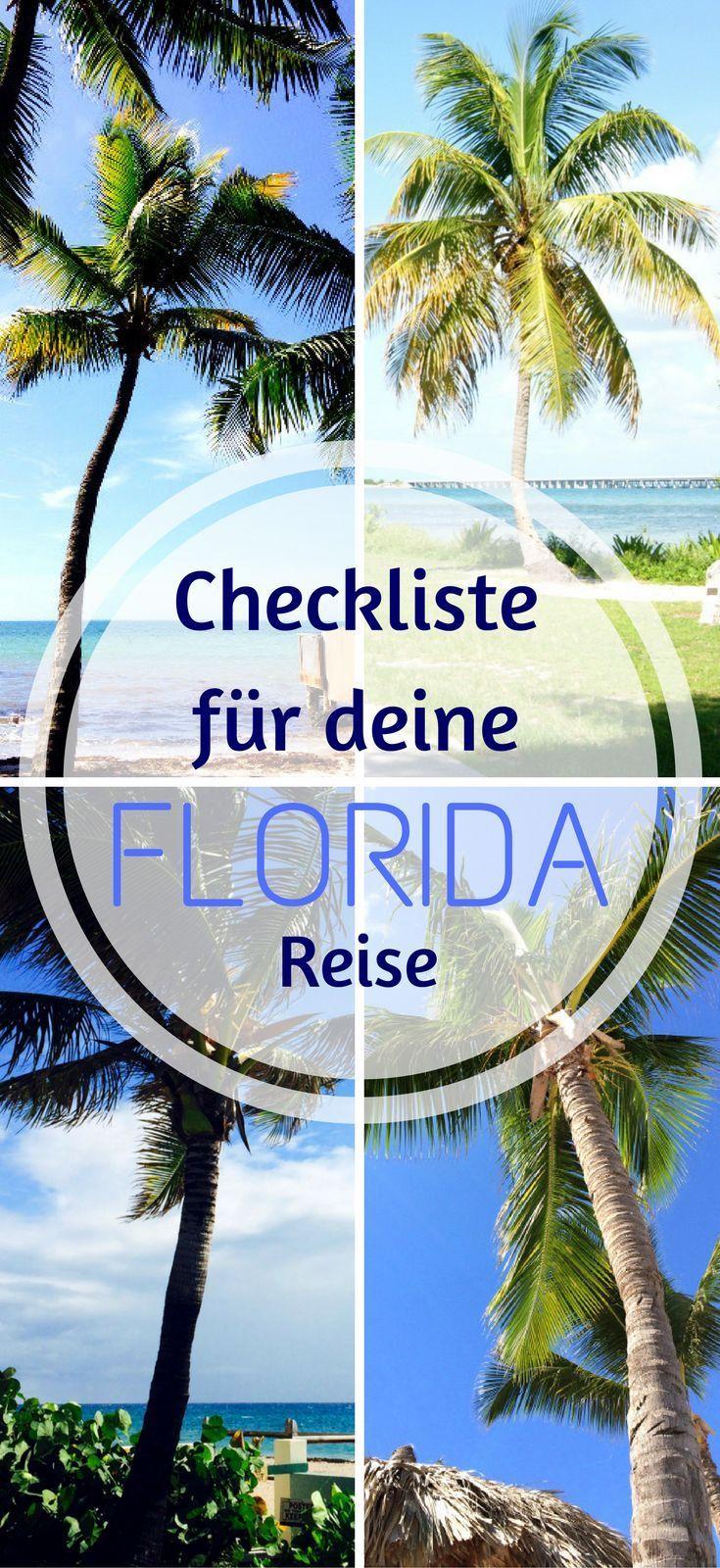 Deine Checkliste für deine Florida Reise. Du fliegst bald in den Sunshine State der USA? Ich zeige dir, an was du vorher denken musst damit deine Reise ein voller Erfolg wird. Von der Routenplanung, über ESTA bis hin zu wertvollen Tipps rund ums Auto fahr