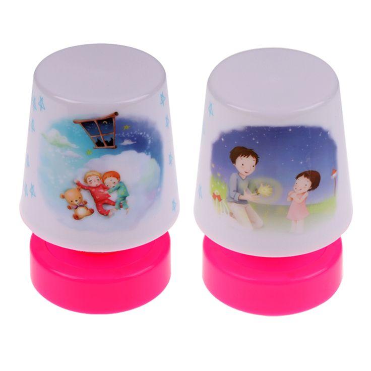 Hot selling mini Cartoon Pat Design LED Changing Table Lamp bedroom Night Light Lamps Toy Kids Gift FULI