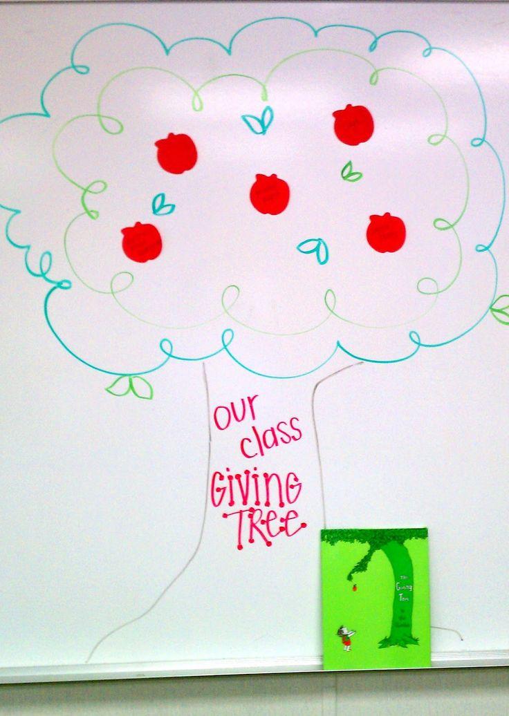 Classroom Giving Tree Ideas ~ Class giving tree supply wish list idea teaching