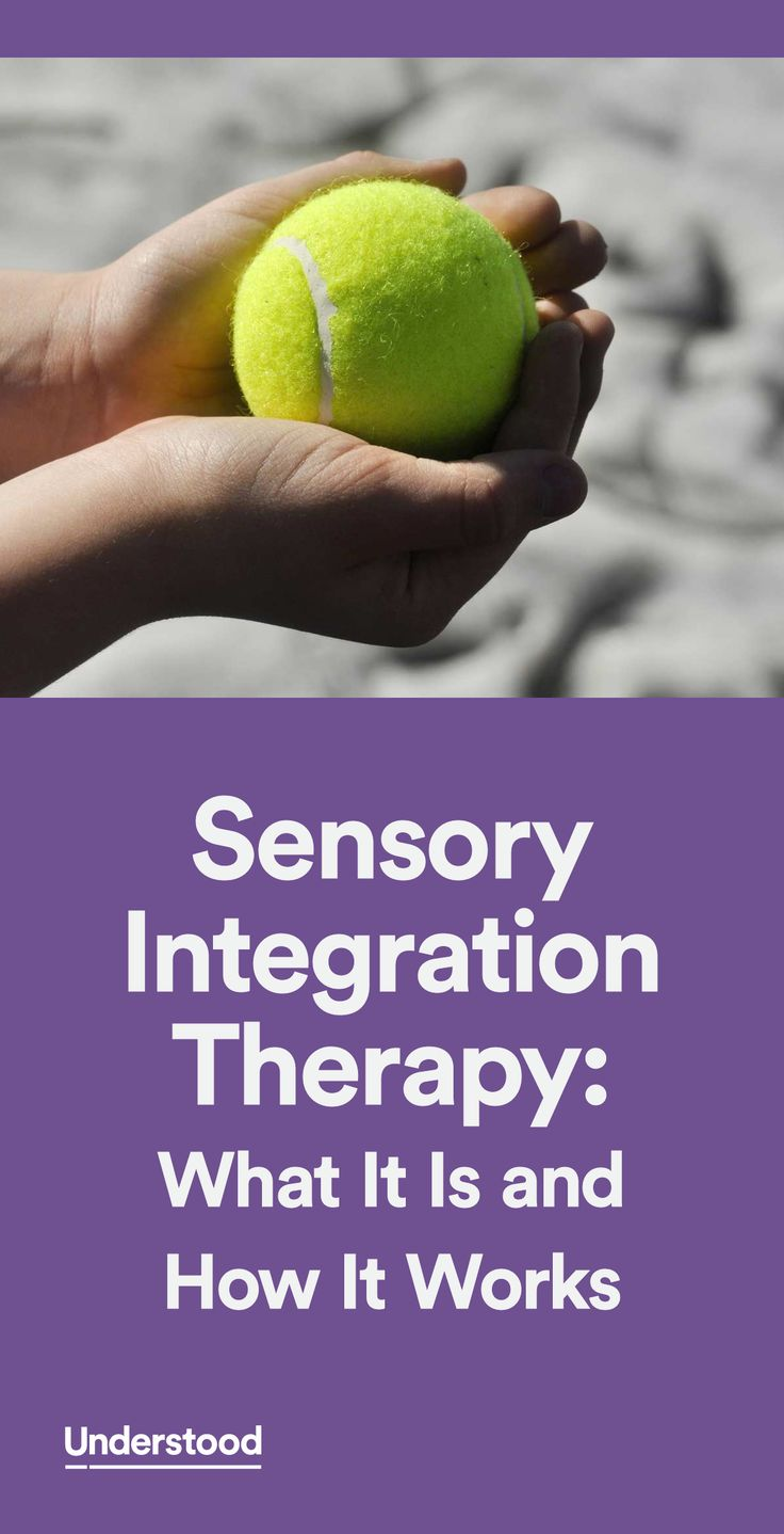 Sensory integration therapy is designed to help kids with sensory processing issues. This type of therapy aims to adjust the way children respond to physical sensations.
