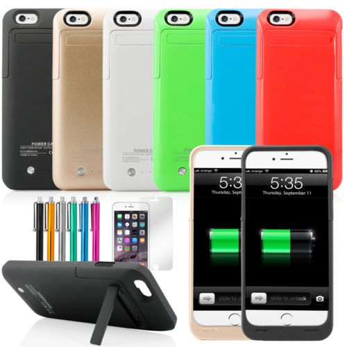 """3500mAh External battery backup power bank charger case cover for iphone 6 4.7"""" http://zingxoom.com/d/cwHHJ7Sq"""