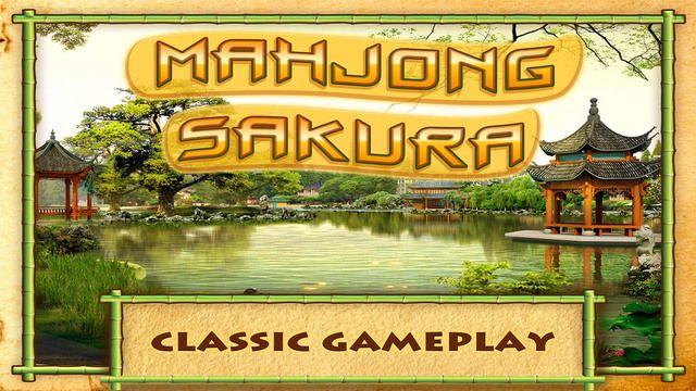 Mahjong Sakura - Matching Tile Solitaire Game - Free by Blue Heron Labs LLC