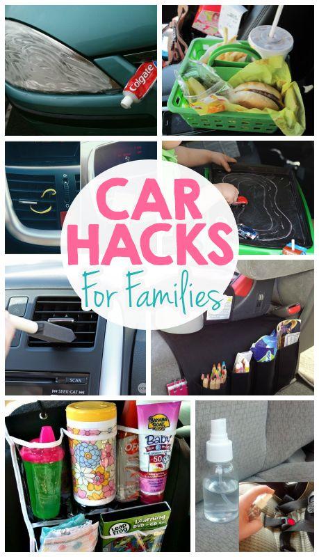 Brilliant Car Hacks For Families + Giveaway #PERKFresh #ad