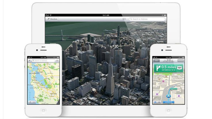 Apple Maps - IOS 9