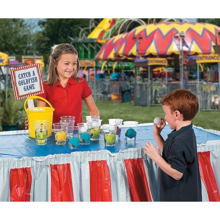 Fish cup game idea this diy carnival game is easy to set for Easy fishing games