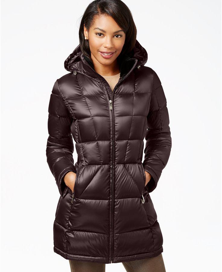 Calvin Klein Petite Packable Down Puffer Coat Coats