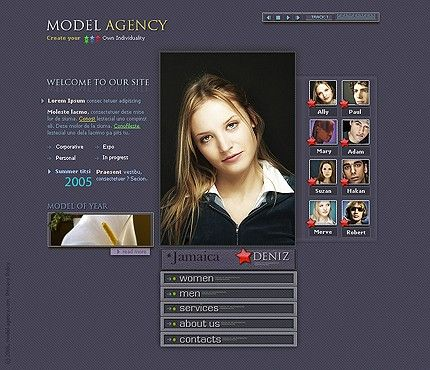 20 best fashion store flash cms images on pinterest role models templates and template. Black Bedroom Furniture Sets. Home Design Ideas