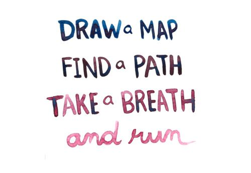 Run.Fit, Life, Paths, Inspiration, Maps, Finding, Running Quotes, Drawing, Breath