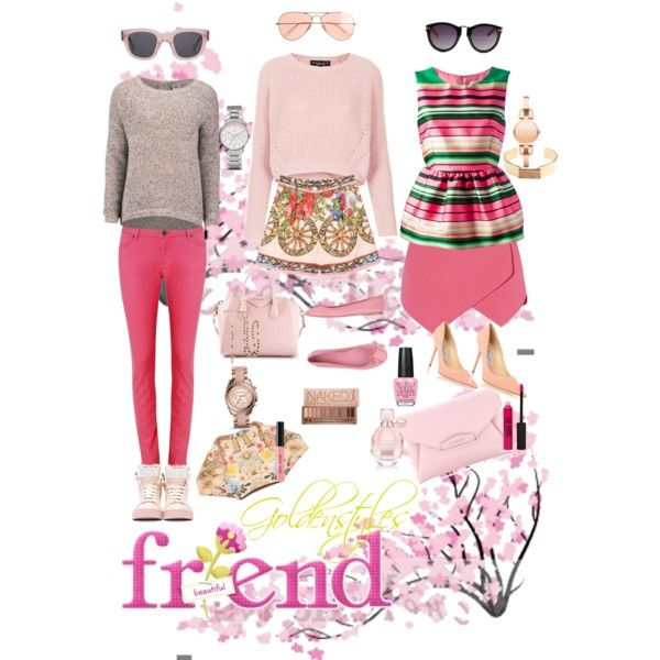 37th clothing inspiration - pink day