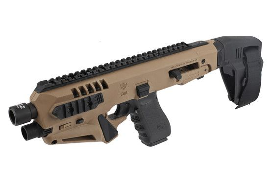 CAA Micro RONI Stabilizer - for Glock 17,22,31 - Flat Dark Earth