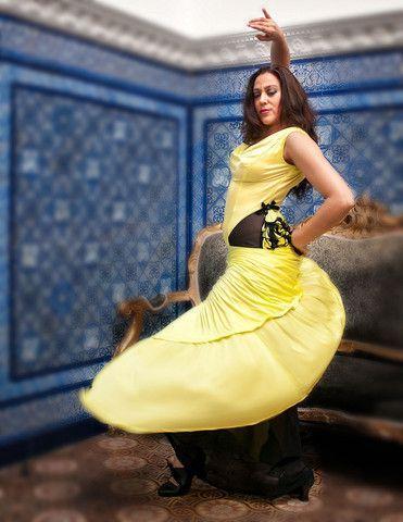 Greenish Yellow Dress - Rosalía Zahíno http://rosalia-zahino.myshopify.com/products/greenish-yellow-dress