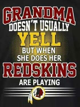 I'll never get to be a grandma, but that's ok....I am used to the idea now. I'll always hoot and holler for my skins!