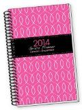2014 PINK Fish INSPIRATIONAL Christian Grace January 2014 Through December 2014 Calendar Daily Day Planner Organizer Agenda Appointment Book Notebook College Ruled Time with God Bible Student Reading Plan & Scripture Jesus Planners Inspirational Quotes Homeschool Great for Moms to Plan it He is calling…