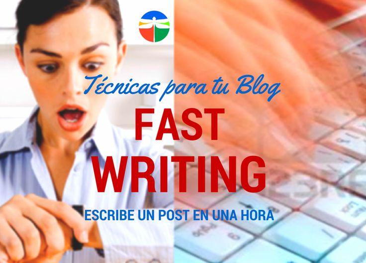 Fast-writing o cómo escribir un post en una hora