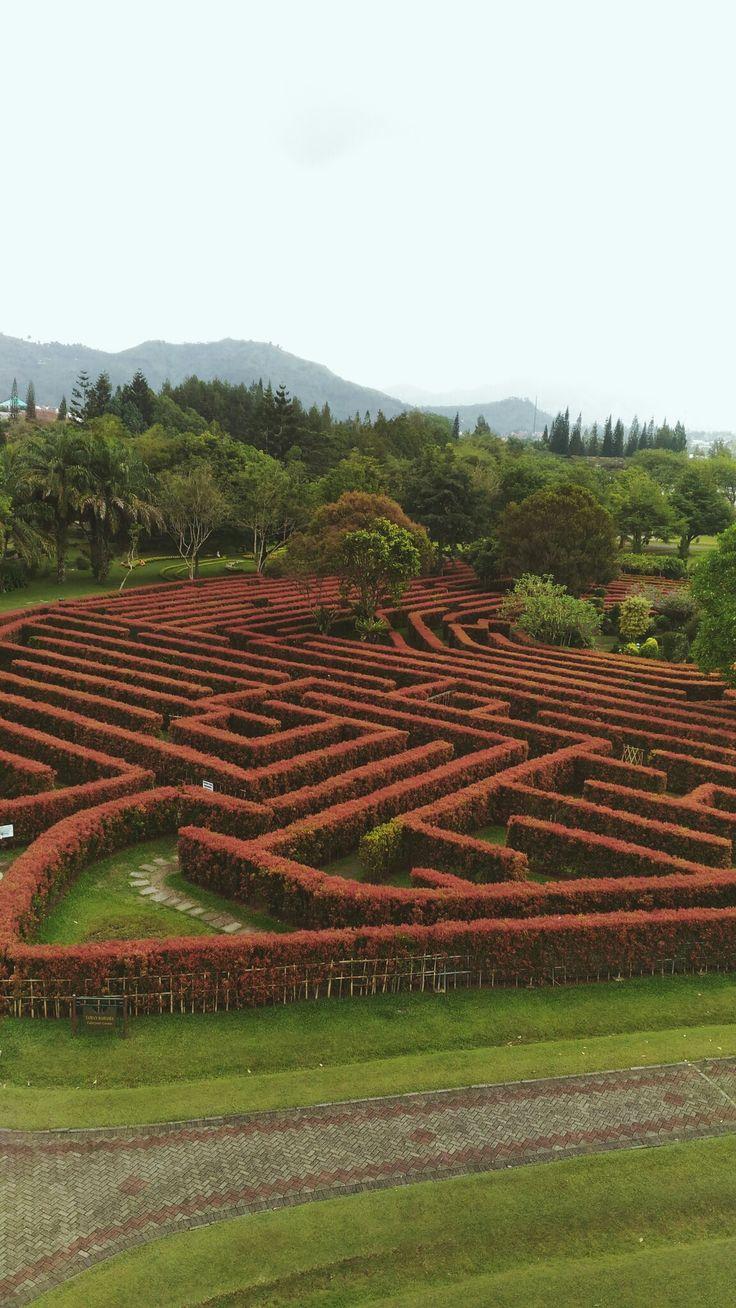 #park #labirin #Indonesia