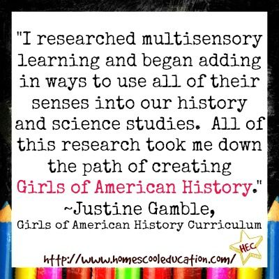 My second daughter and I have the honor of using and reviewing a unit from Girls of American History featuring the American Girl®, Molly. The curriculum was created by creative homeschool mommy, Justine Gamble and was chosen one of the Top Picks of 2015-2016 in the Homeschool Curriculum Guide.   I recently had the opportunity to ask her a few questions. Grab a cup of coffee and get cozy. I hope our chat inspires you . . .