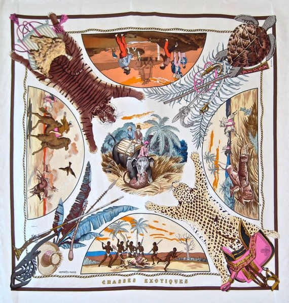 Hermes Chasses Exotiques scarf.  LOVE!