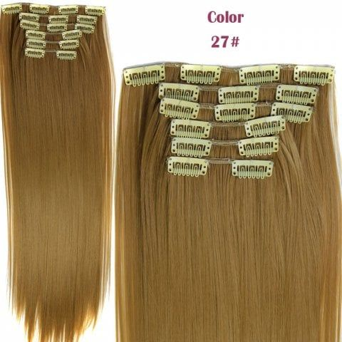 GET $50 NOW | Join RoseGal: Get YOUR $50 NOW!https://www.rosegal.com/hair-extension/trendy-long-straight-clip-in-heat-resistant-synthetic-hair-extension-suit-for-women-474448.html?seid=2275071rg474448