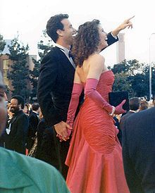 Tom Hanks and his wife, Rita Wilson, at the 1989 Oscars - Wikipedia, the free encyclopedia