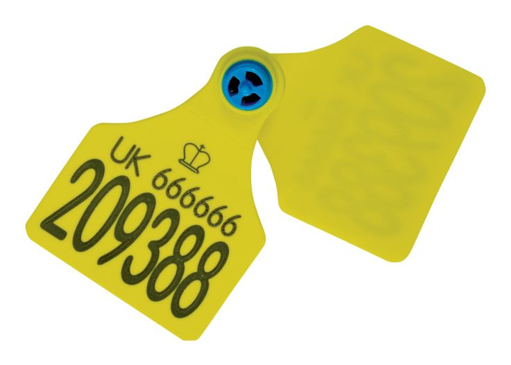 Blue Helix Cattle Tag - Full, free rotation allowing the tag to swivel, reducing snagging #Cattle #Tags #CattleTags #BlueHelix