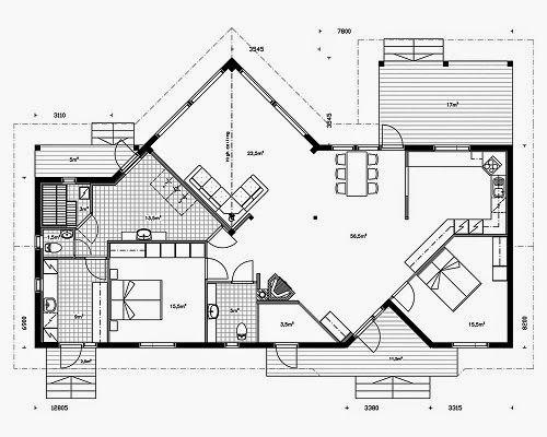 17 best ideas about planos casas prefabricadas on for Simbologia arquitectonica para casas