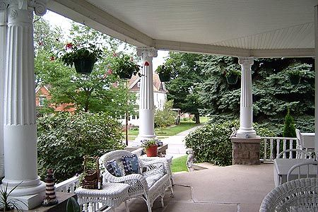 Large family gatherings on this large wrap around porch.Dreams Home, Dreams House, Wicker Furniture, Dream Houses, Ice Teas, Wrap Around Porches, Wraparound Porches, Front Porches, Wraps Around Porches