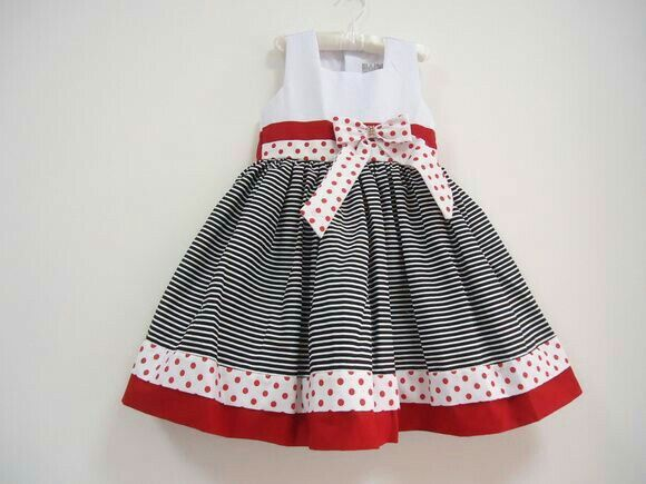 This sock monkey dress is adorable! Perfect for a Sunday Funday!!