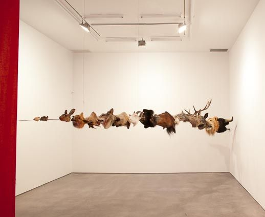 Huang Yong Ping: Circus,2012.Courtesy Galerie Gladstone, New York