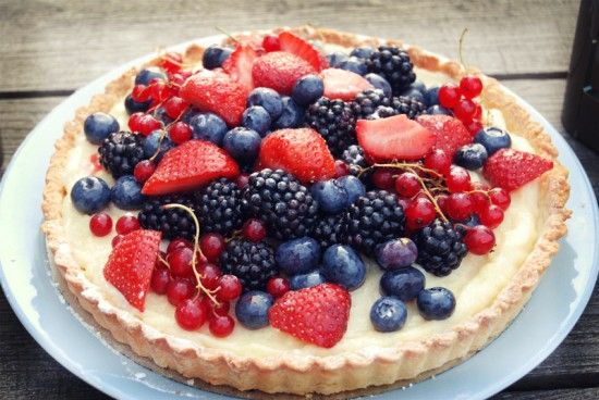Recept - vruchtentaart - met Zonnigfruit