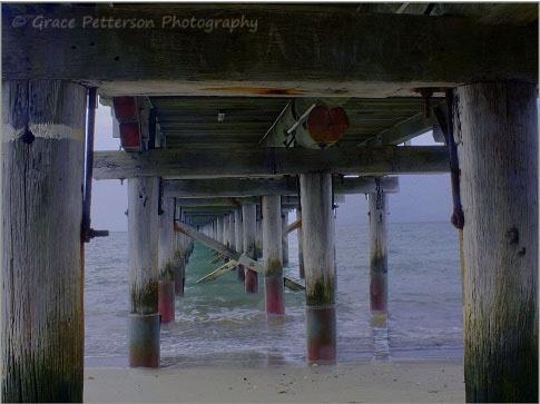 """Looking Through"" Urangan Pier, Hervey Bay, QLD. Australia"