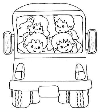 C'est la rentrée : école - le bus