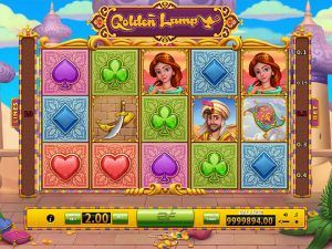 Golden Lamp Slot Game