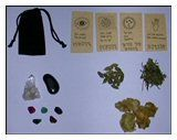 Herbal Amulet/Gris Gris Bag - Creativity | The Magickal Cat Online Pagan/Wiccan Shop