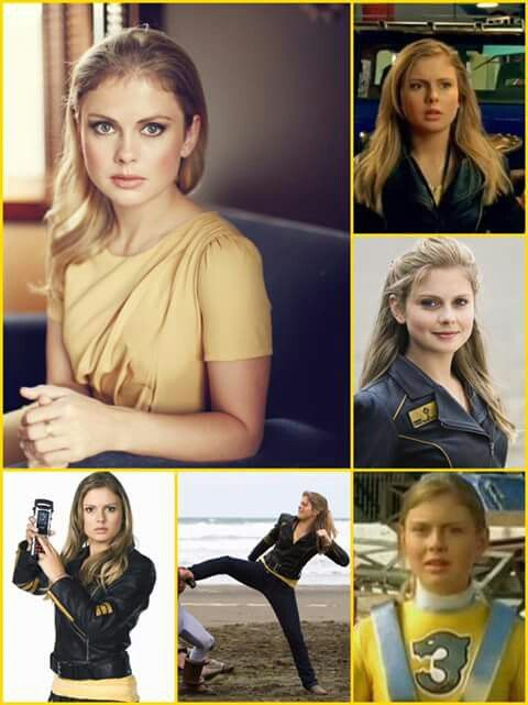 Rose McIver = Summer Yellow Ranger from Power Rangers RPM