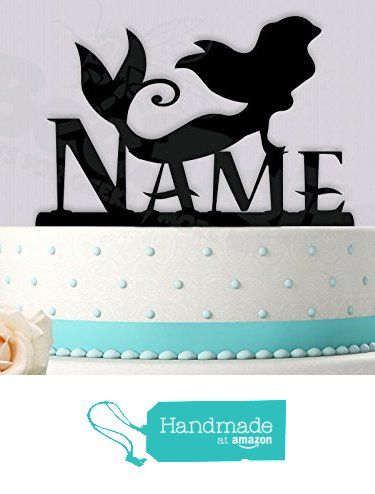 Ariel Birthday Little Mermaid Inspired Cake Topper from Bee3DGifts http://www.amazon.com/dp/B01ETYMNK2/ref=hnd_sw_r_pi_dp_jHanxb1HZR9ZC #handmadeatamazon
