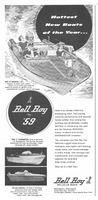 Bell Boy Boats - Bellglas Bonanza 1959 Ad Picture