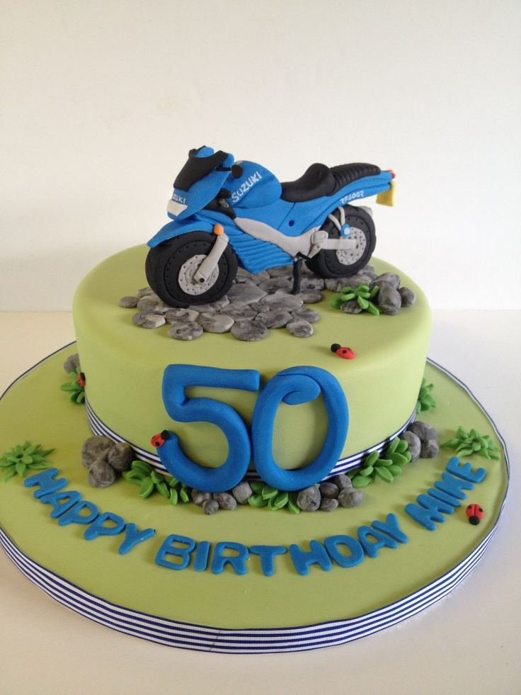Motocross Cake Topper Tutorial
