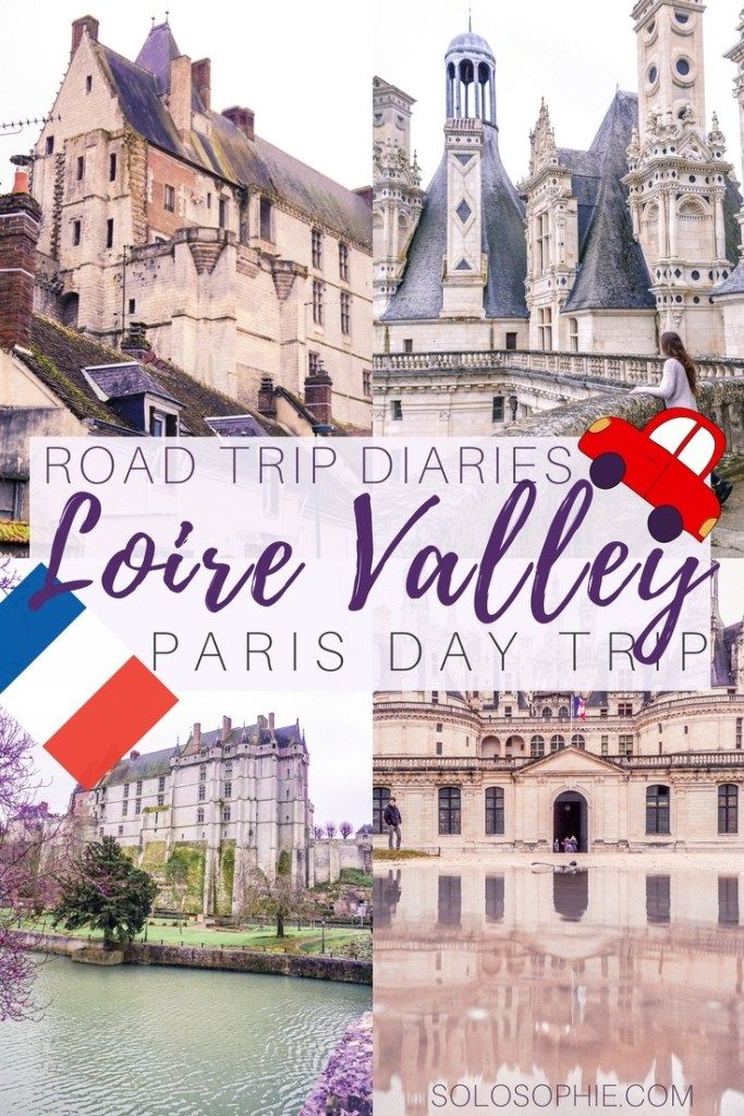 Road day trip to the Loire Valley. Just over two hours drive away from the centre of Paris, France lies the Loire Valley. There, you'll find around fifty French châteaux lining the river Loir and its tributaries.