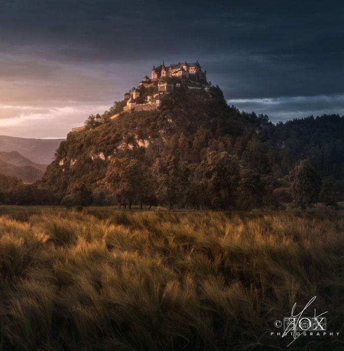 Hohenzollern Castle, Austria