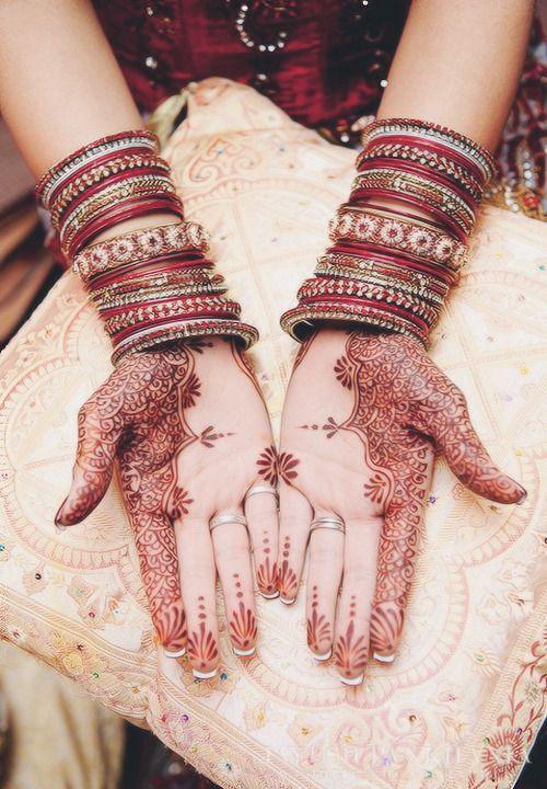 Beautiful henna... ✨
