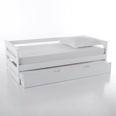 Lit banquette enfant avec tiroir lit pin massif ellis 300 00 meuble pint - Banquette lit vintage ...