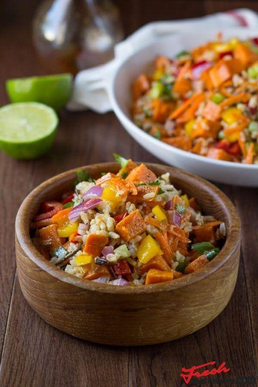 Wild Rice and Sweet Potato Salad with a Chili Lime Vinaigrette | Fresh news Magazine. Thats all you need