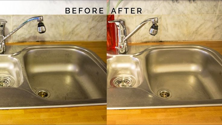 How to Disinfect, Clean, and Shine Your Stainless Steel Kitchen Sink