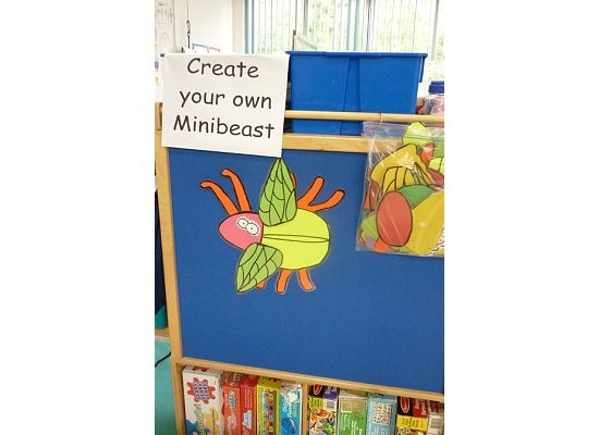 Create Your Own Minibeast My Own Idea Minibeast Topic