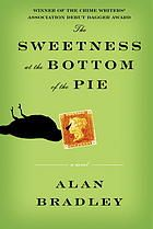 Sweetness at the bottom of the pie by Alan Brandley. Eleven-year-old Flavia de Luce, an aspiring chemist with a passion for poison, must exonerate her father of murder. Armed with more than enough knowledge to tie two distant deaths together and examine new suspects, she begins a search that will lead her all the way to the King of England himself.