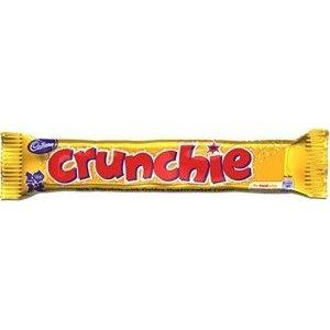 Cadbury Crunchie Bars, had these in Ireland.. honey deliciousness