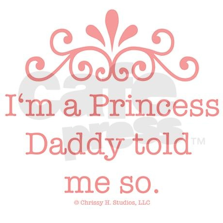 :) Daddy's little girl.